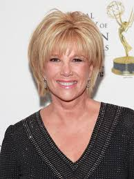 cute haircuts on gma joan lunden gives an emotional update on her ongoing breast cancer