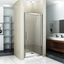 Shower Stall With Door Replacement Of Hinged Shower Doors Shower Stalls Enclosure