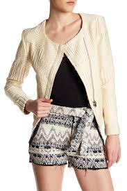 iro mepsie metallic woven jacket nordstrom rack