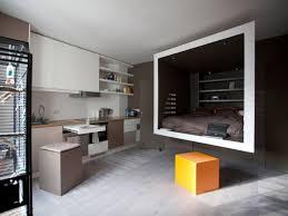 chambre architecte 1 studio organisé autour d 1 cube suspendu