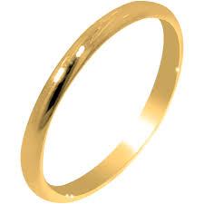ring plain children plain ring in 10kt yellow gold