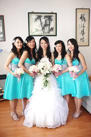 robin egg blue bridesmaid dresses blue and silver bridesmaid dresses