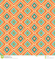 vintage halloween pattern background ethnic rhombus pattern in retro colors aztec style seamless