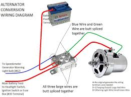 28 bosch vw alternator wiring diagram alternator wiring
