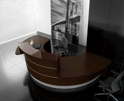 Circular Reception Desk Valencia Semi Circular Reception Desk 2
