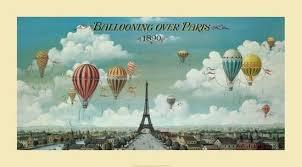 air balloon l for sale ballooning over paris art print by isiah and benjamin lane at art com