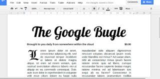 newspaper article template google docs business template