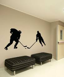 sports wall stickers sports decals for walls stickerbrand vinyl wall decal sticker hockey game os aa725