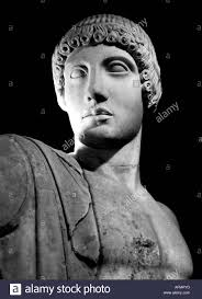 apollon apoll apollo greek god bust olympia museum athen