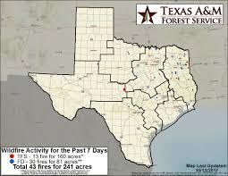 Texas Wildfire Danger Map by Txa U0026m Forest Service Allhazardstfs Twitter