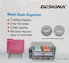 all in one desk organizer designa all in one mesh desk organizer space saving design easy