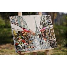 painting home aliexpress com buy ruopoty paris street diy painting by numbers