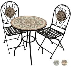 Large Bistro Table And Chairs Patio Dining Sets Outdoor Bistro Table And Chairs Mosaic