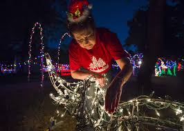 dickenson festival of lights dickinson festival of lights opens amid harvey recovery the