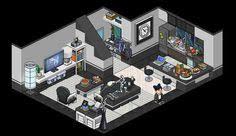 Habbo Room Designs