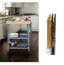 kitchen island butcher block top small folding metal 3 shelf utility cart kitchen island butcher