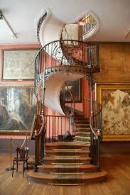 Industrial Stairs Design Wonderful Dark Brown Black Wood Iron Modern Design Interior Spiral