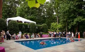 Pools Backyard Triyae Com U003d Backyard Wedding Ideas With Pool Various Design