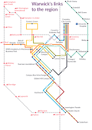 Transport Map Services To And From Campus Buses University Of Warwick