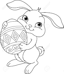 easter bunny clip art google search coloring pages pinterest