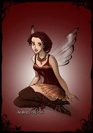 birthstones fairies birthstone fairies garnet january fairies pinterest