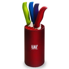 new xyj brand ceramic knife set for 4 different colors kitchen new xyj brand ceramic knife set for 4 different colors kitchen knife with 4 covers and 1 high quality 8 inch round knife holder in knife sets from home