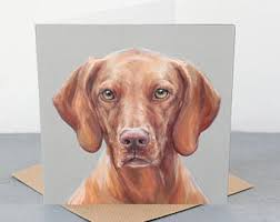 Vizsla Halloween Costume Vizsla Dog Card Etsy