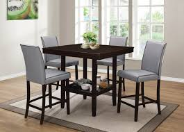 darby home co dewart 5 piece counter height dining set u0026 reviews