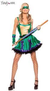 Halloween Costume Sale Clearance Ninja Turtle Costume Donatello Costume Womens Purple Turtle