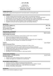 Resume Samples Accounting Experience by Examples Of Resumes Free Templates Allow You To Find The Best