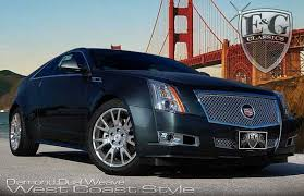 cts cadillac 2012 cadillac cts coupe dual weave mesh grille by e g classics 2011