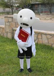 coolest homemade costume idea diary of a wimpy kid costume