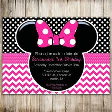 minnie mouse 1st birthday party invitations u2013 unitedarmy