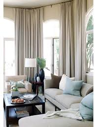 Neutral Curtains Decor Living Room Design Home And Garden Design Ideas Lovely Living