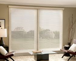 Best Blinds For Sliding Windows Ideas Faux Wood Blinds Sliding Glass Door Interior Design Ideas