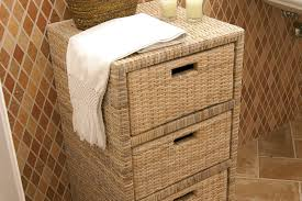 rattan cabinet 3 drawers