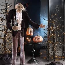 Lighted Halloween Trees Creepy Moving Halloween Trees The Green Head