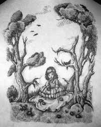 40 skull tree designs for cool ink ideas