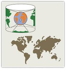 what is a map projection map scale coordinate systems and map projections
