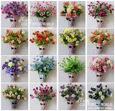 artificial flowers for home decoration springtime silk flowers refresh your home décor with color and new