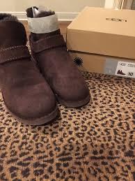 ugg s boots chocolate ugg australia w mckay s boots 1012358 w chocolate size 10 ebay