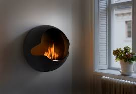 bioethanol fireplace original design open hearth wall