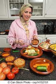 femme qui cuisine voilé cuisine femme européen moderne ramadan marocain