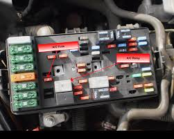 saturn fuse box saturn l fuse panel layout electrical problem