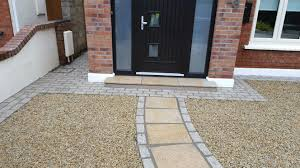 natural stone driveways evergreenlandscapes ie