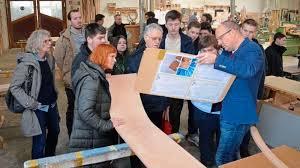 wintermann treppen zwaig besuch in tischler betrieb großenkneter firma setzt auf
