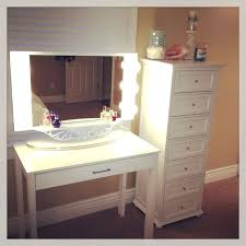 desk dressing table with lights around mirror india broadway