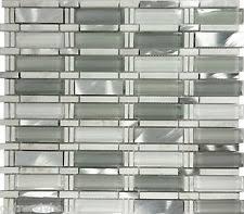 Gray Stone Backsplash by 1sf Stainless Steel Metal White Carrara Gray Stone Mosaic Tile
