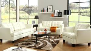 White Leather Living Room Set Intricate Blue Leather Living Room Set Kleer Flo