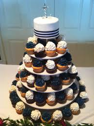 nautical cupcake tower alyssa u0027s cakery
